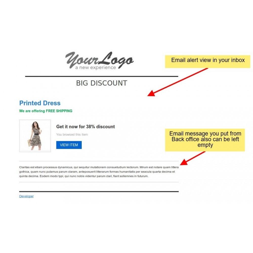 module - E-mails y Notificaciones - Notificación de caída de precios, alertas de productos - 3