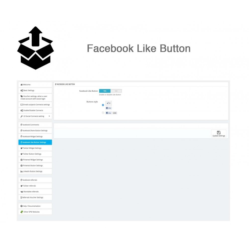 module - Social Login & Connect - Social Pack: Connects, Referrals, Plugins (34 in 1) - 41