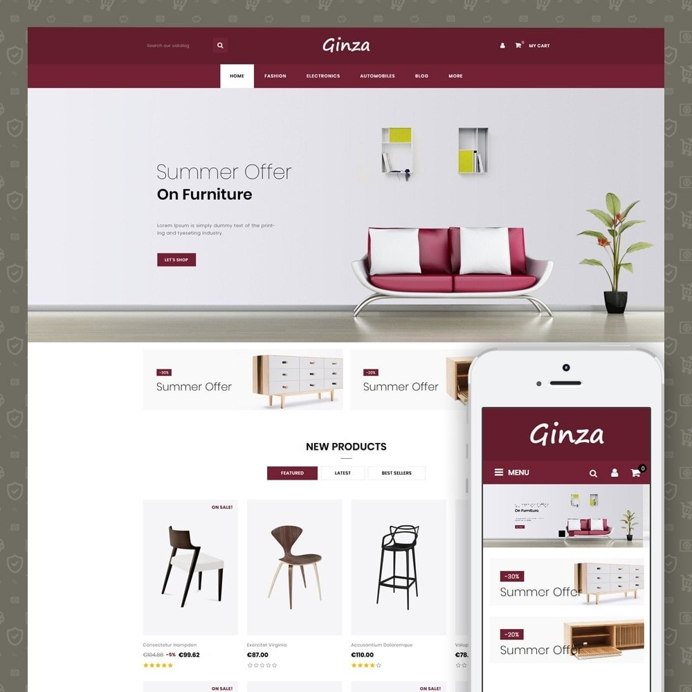 theme - Home & Garden - Ginza Furniture Store - 1