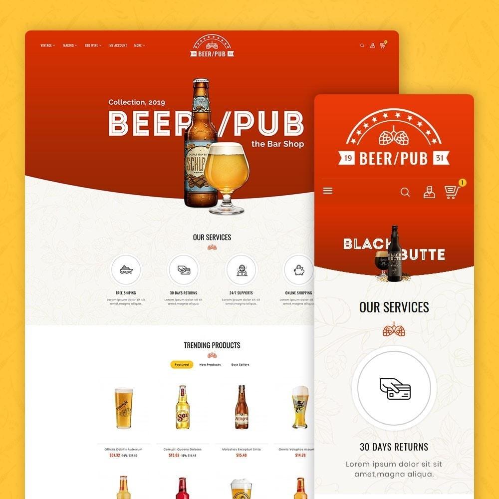 theme - Drink & Wine - Beer Pub & Drinks - 1