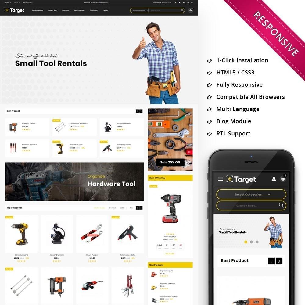 theme - Auto & Moto - Target - Le magasin d'outils - 1