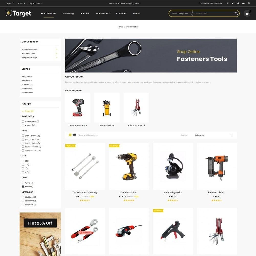 theme - Auto & Moto - Target - Le magasin d'outils - 5