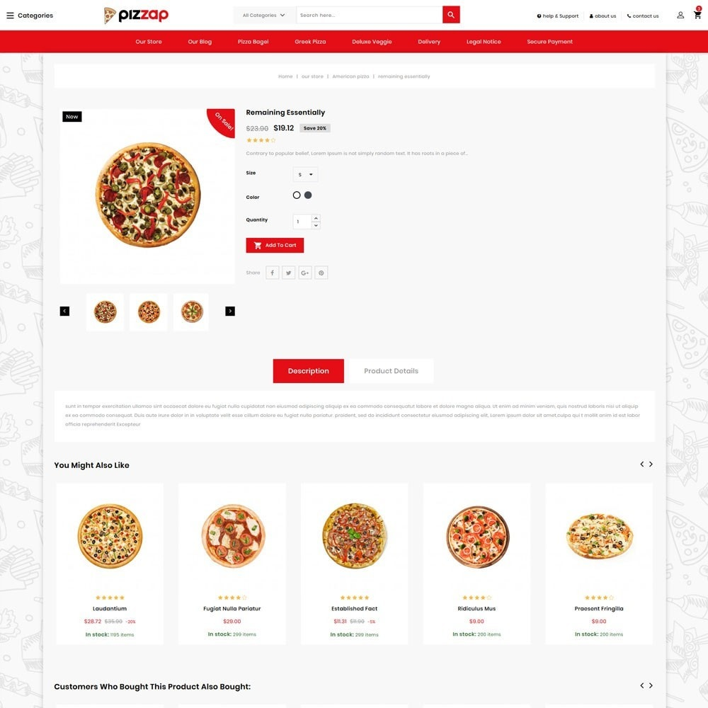 theme - Gastronomía y Restauración - Pizzap - The Fast Food Corner - 6