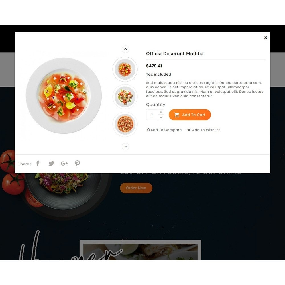 theme - Alimentos & Restaurantes - Hunger Jam - Food & Dishes - 8