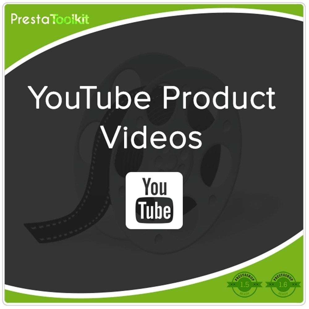 module - Wideo & Muzyka - Filmy produktów Youtube - 1