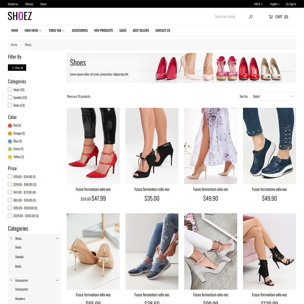 theme - Mode & Chaussures - Shoez - Fashion and shoes - 6