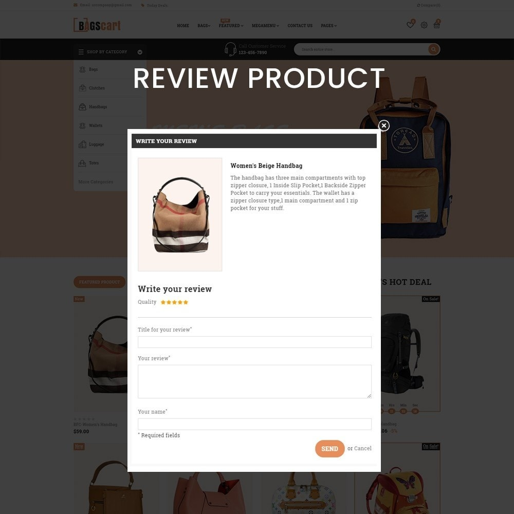 theme - Fashion & Shoes - Bagscart - Multiporpose Mega Bag Store - 7