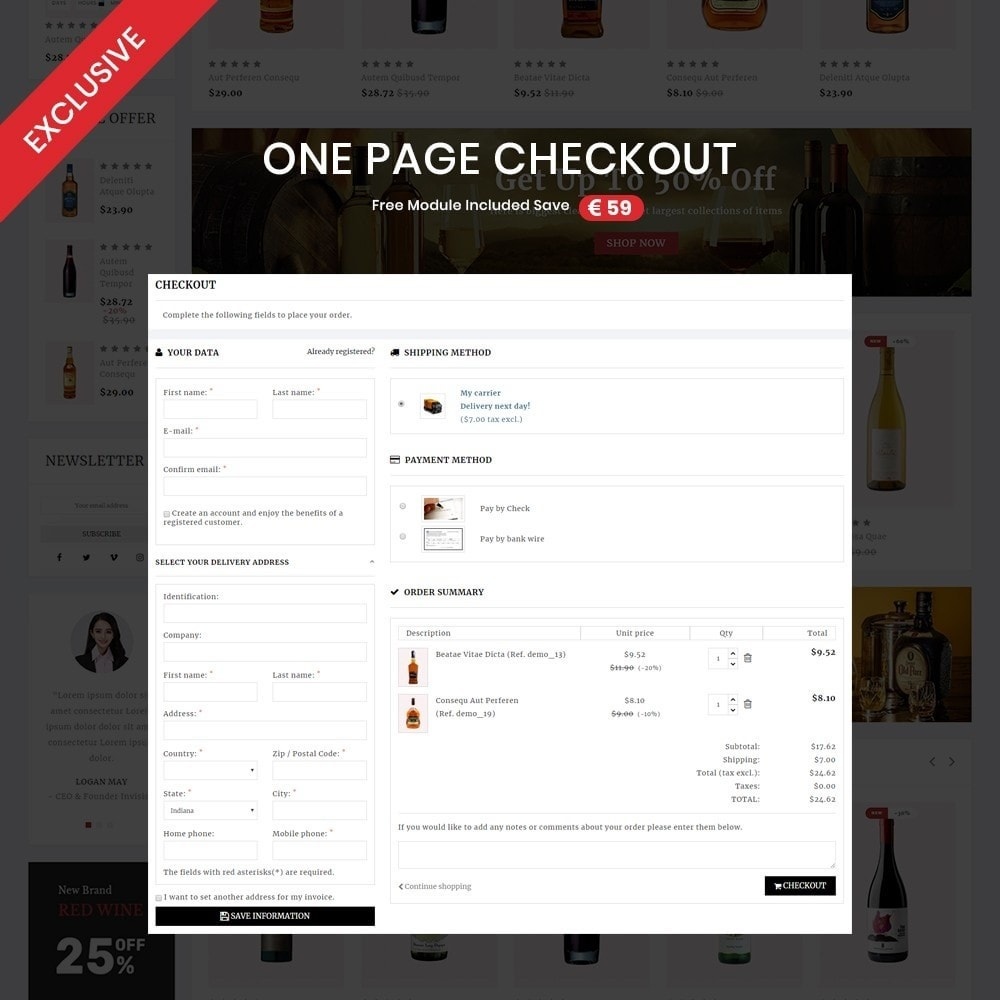 theme - Drink & Tobacco - Wine shop– Multipurpose Mega Wine Store - 2