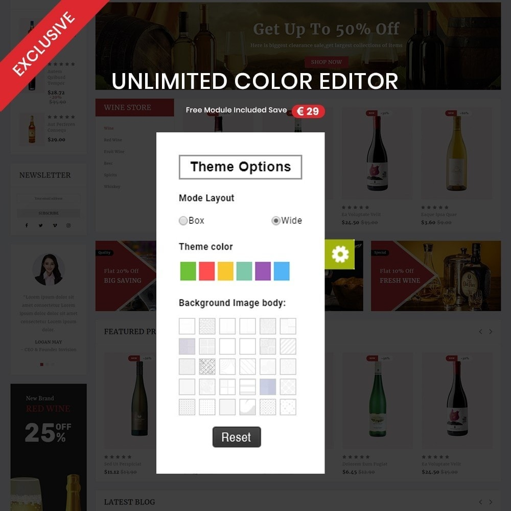 theme - Drink & Tobacco - Wine shop– Multipurpose Mega Wine Store - 3