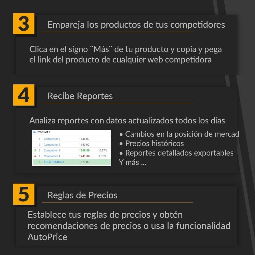 module - Informes y Estadísticas - PricePortal Competencia rastreada y pricing dinámico - 6
