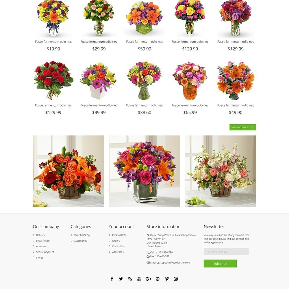theme - Regali, Fiori & Feste - Flower Shop - 5