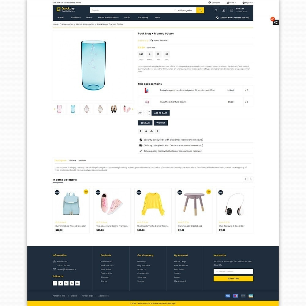 theme - Elektronika & High Tech - Quickpay - The MultiStore Theme - 5