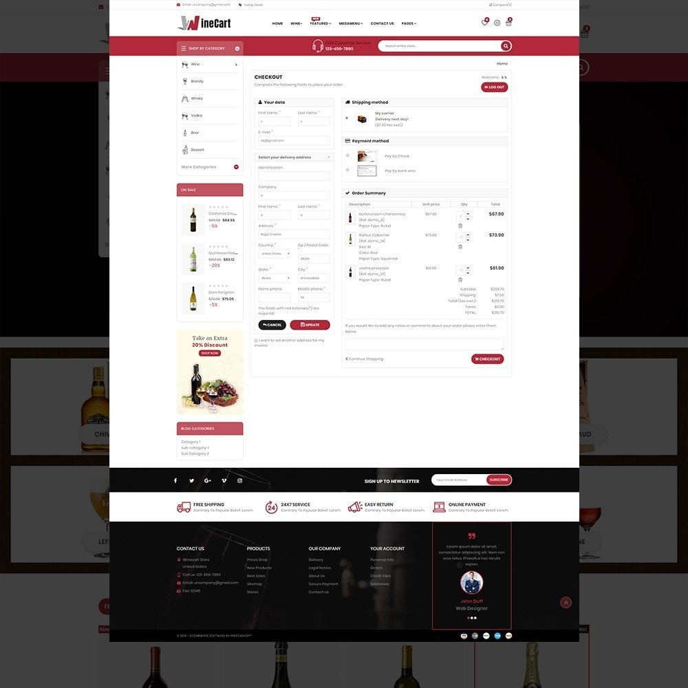 theme - Getränke & Tabak - Wine cart– Multipurpose Mega Wine Store - 12