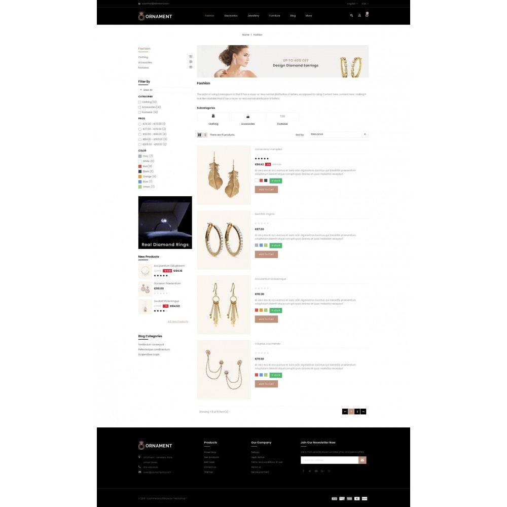 theme - Ювелирные изделия и Аксессуары - Ornament Jewelery Store - 4