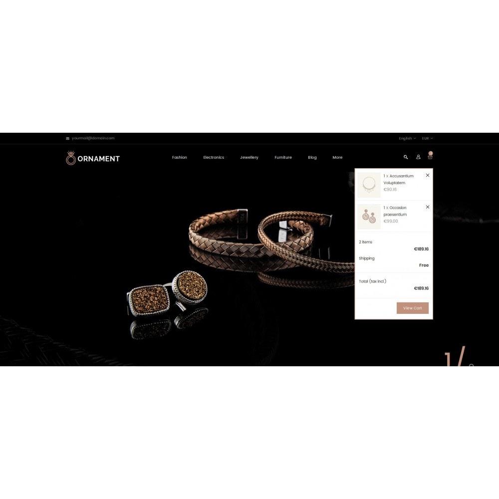 theme - Ювелирные изделия и Аксессуары - Ornament Jewelery Store - 7