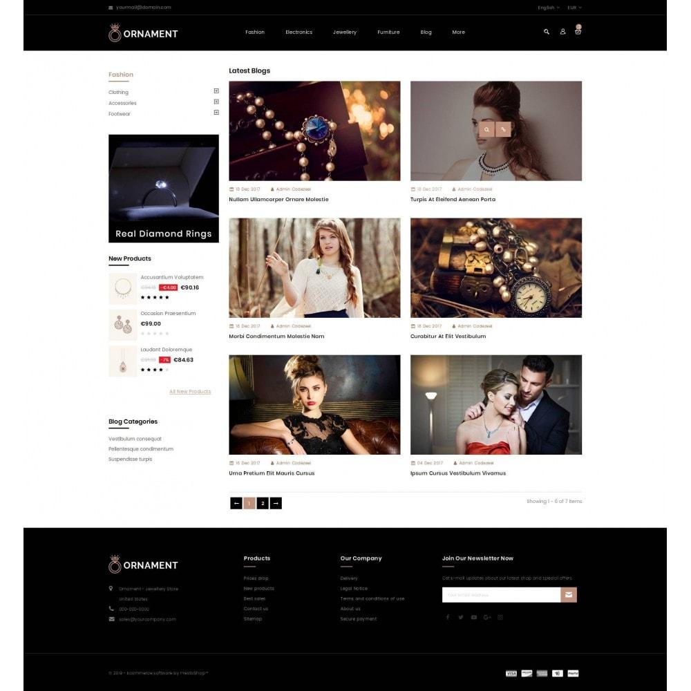 theme - Ювелирные изделия и Аксессуары - Ornament Jewelery Store - 9