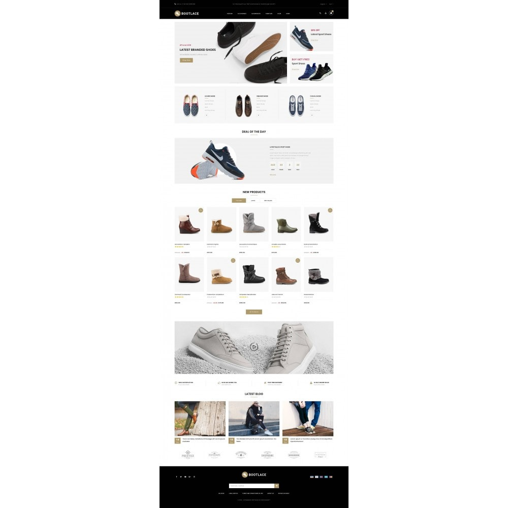 theme - Mode & Schoenen - Bootlace  - Shoes Store - 2