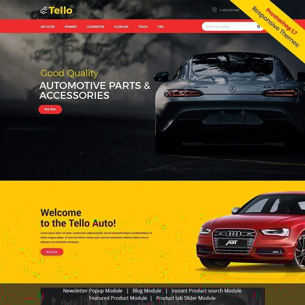 theme - Automotive & Cars - Tello Auto - Car Black Dark - 1