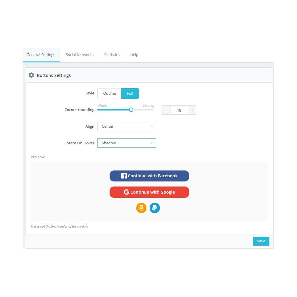 module - Social Login & Connect - Social Connect (Google, Facebook, PayPal, Amazon) - 5