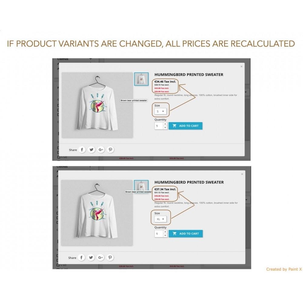 module - Gestion des Prix - Double affichage avancé au prix avec taxe et sans taxe - 4