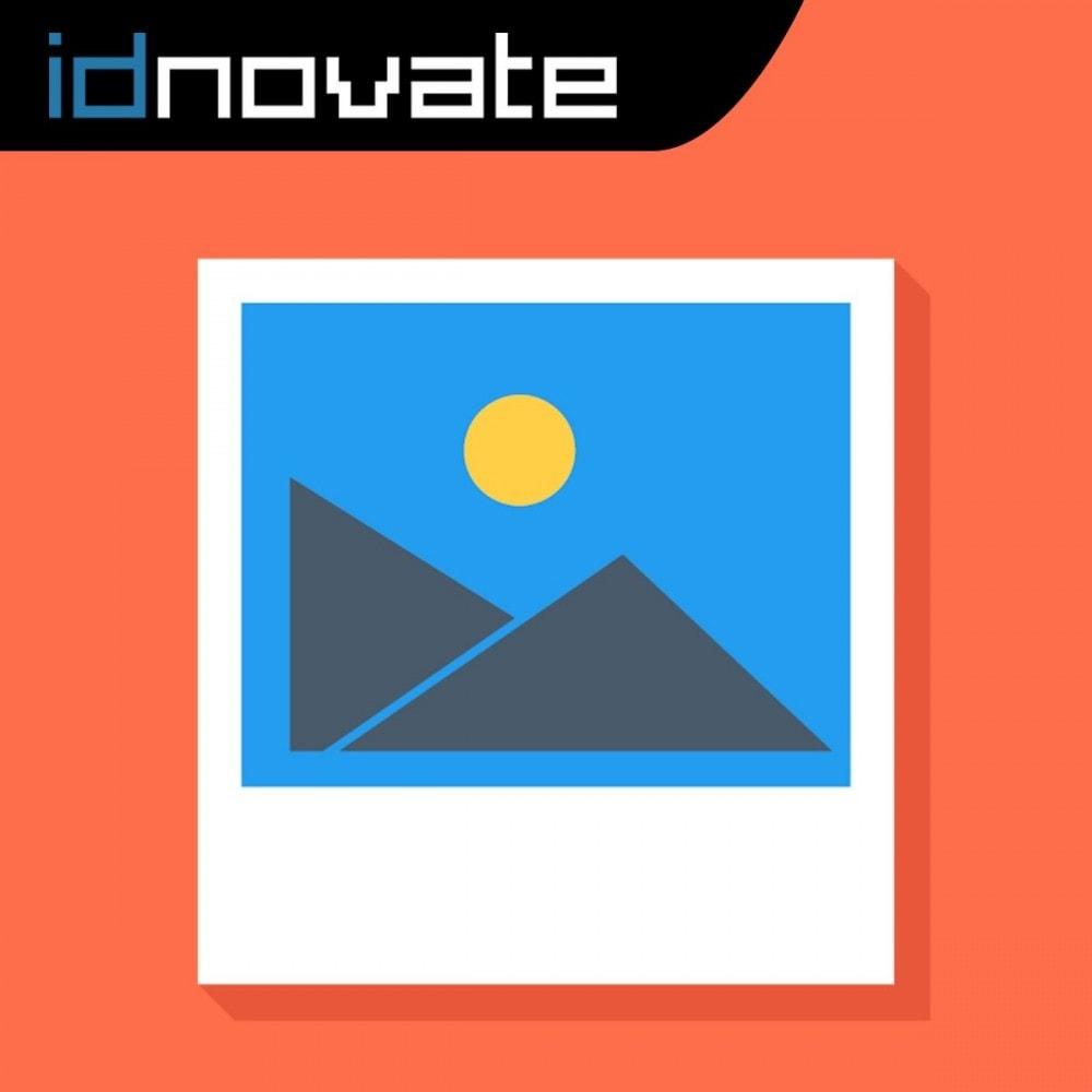 module - SEO (Indicizzazione naturale) - Tag ALT automatico dell'immagine - SEO nell'immagine - 1