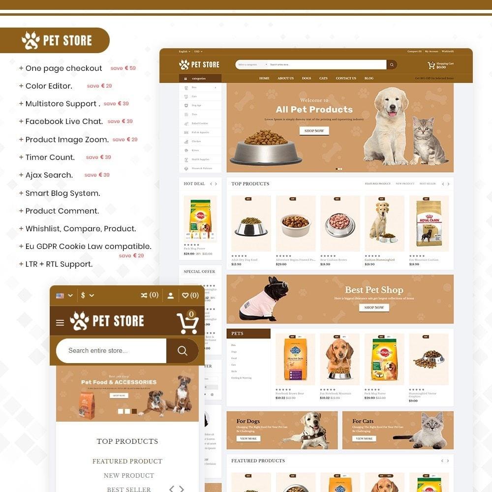 theme - Zwierzęta - Petstore – Animals & Pets Store - 1