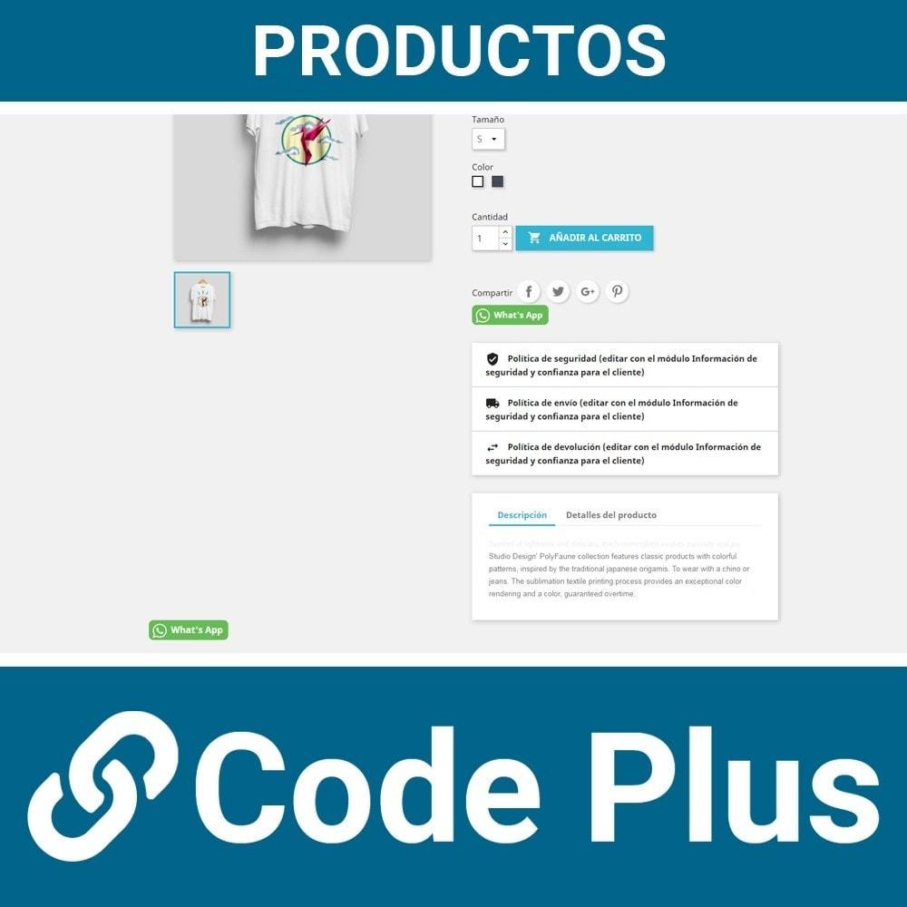 module - Asistencia & Chat online - Chatea con tus clientes a través del chat de What's App - 4