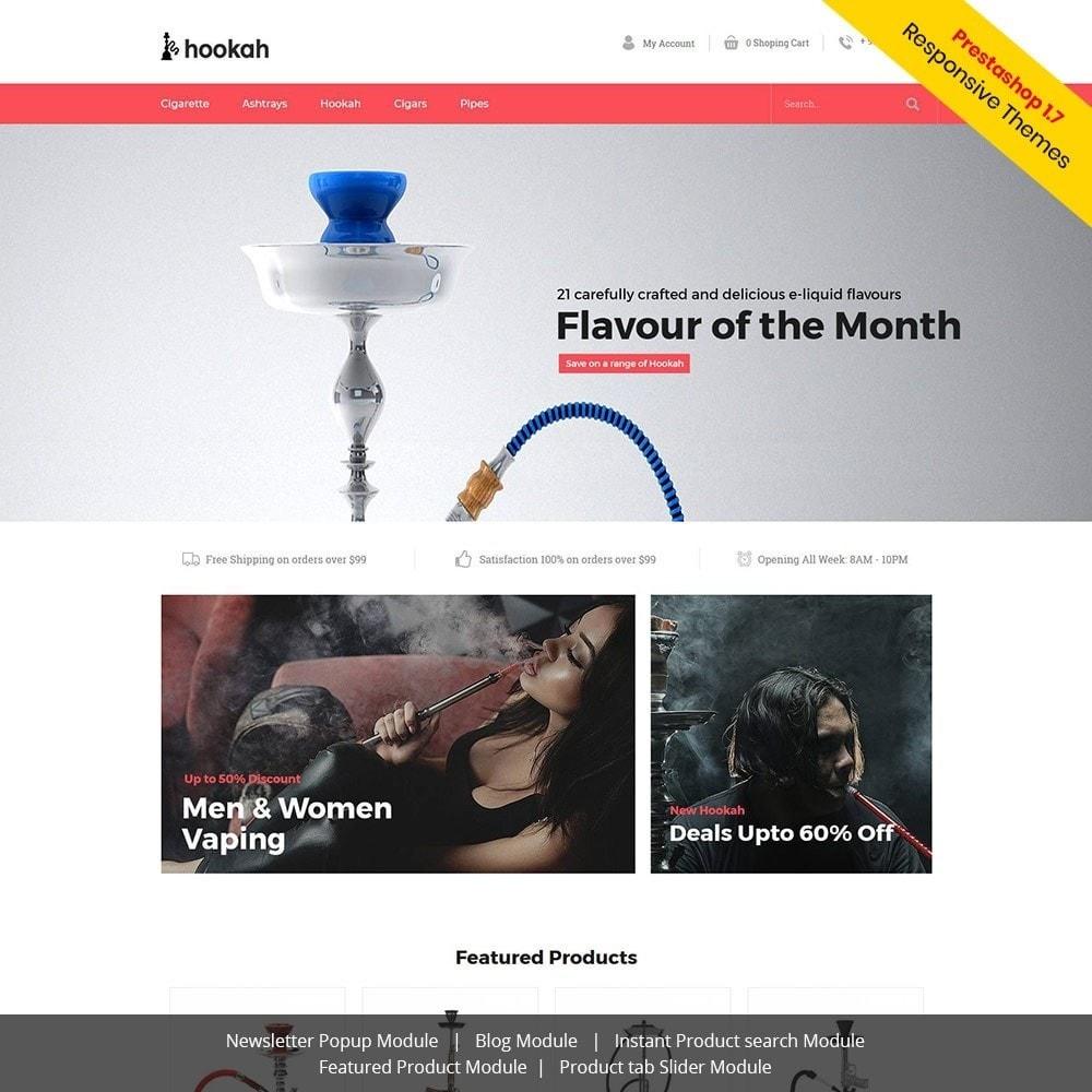 theme - Drink & Tobacco - Hookah - Smoke Bar Store - 1