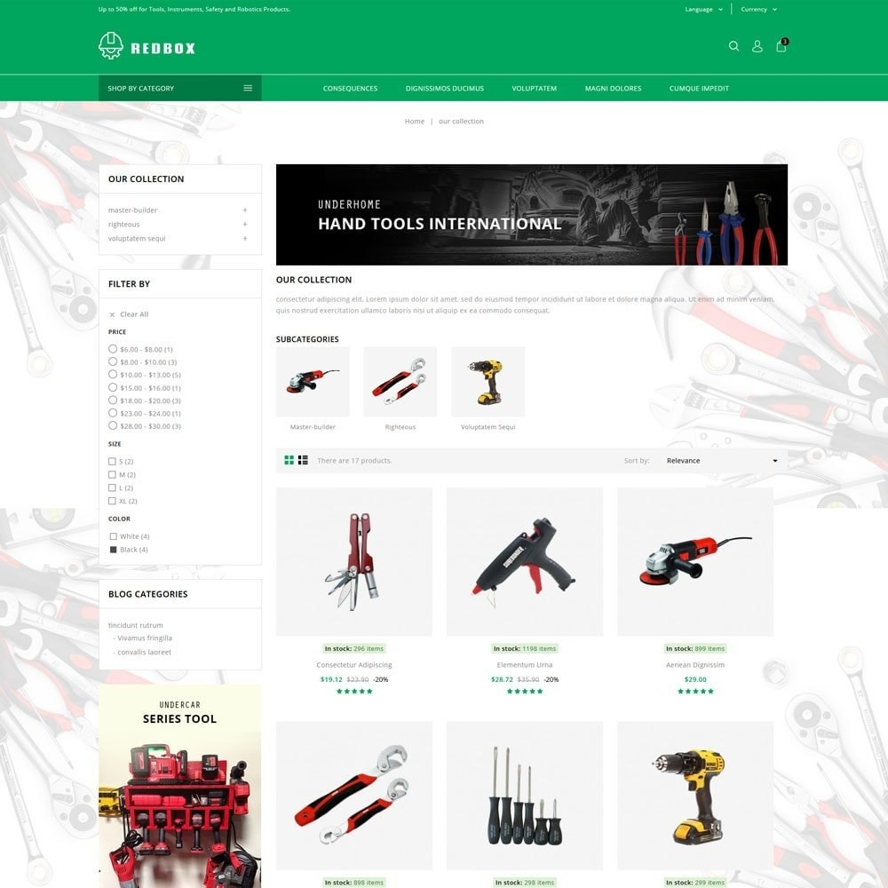theme - Coches y Motos - Redbox - The Tools Store - 4