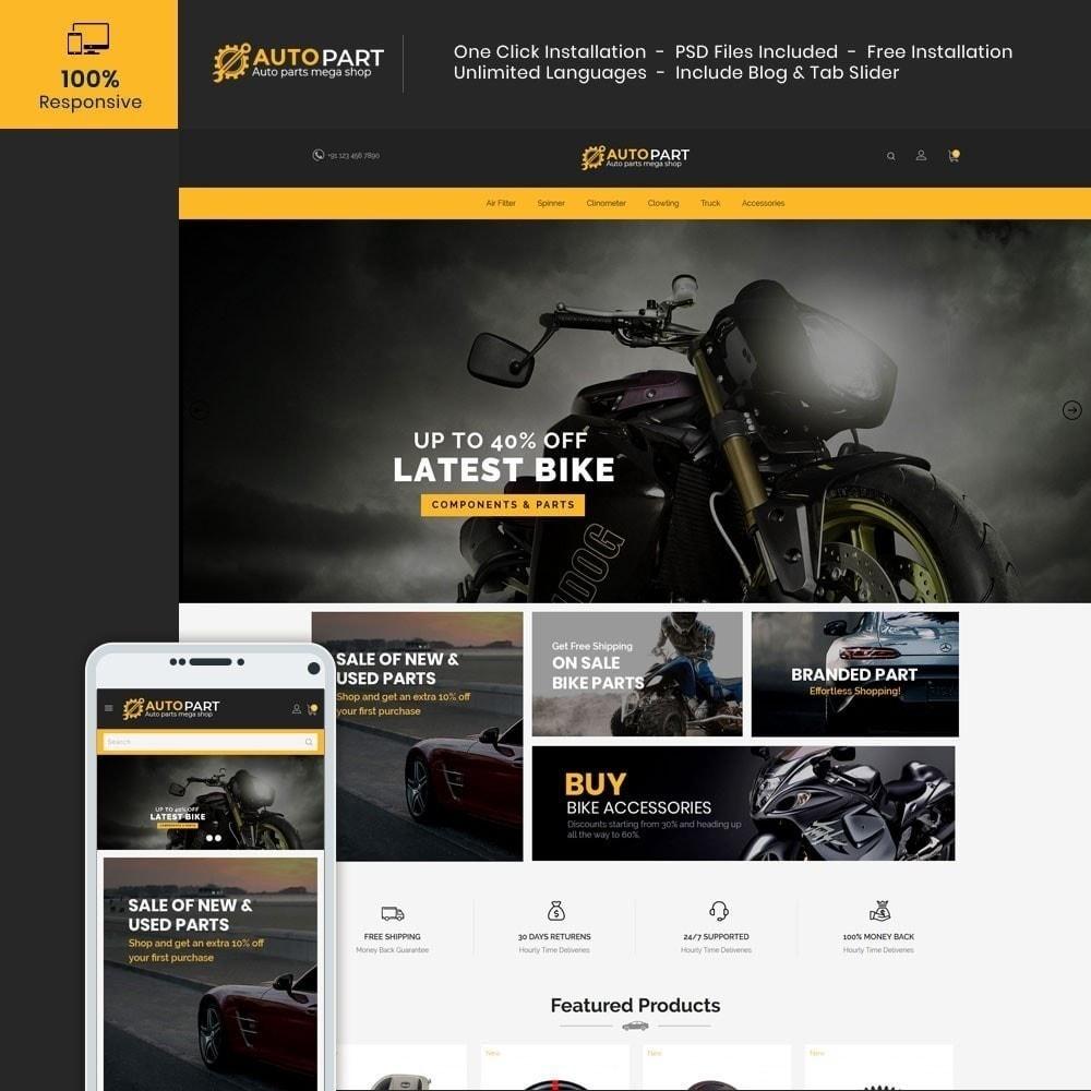 theme - Carros & Motos - Autopeças Car - Auto Tool Store - 2