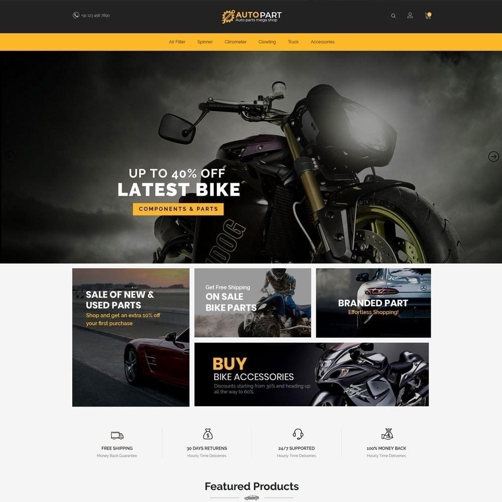 theme - Carros & Motos - Autopeças Car - Auto Tool Store - 3