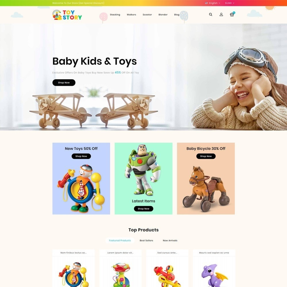 theme - Kinderen & Speelgoed - Toys Kids Store - 2
