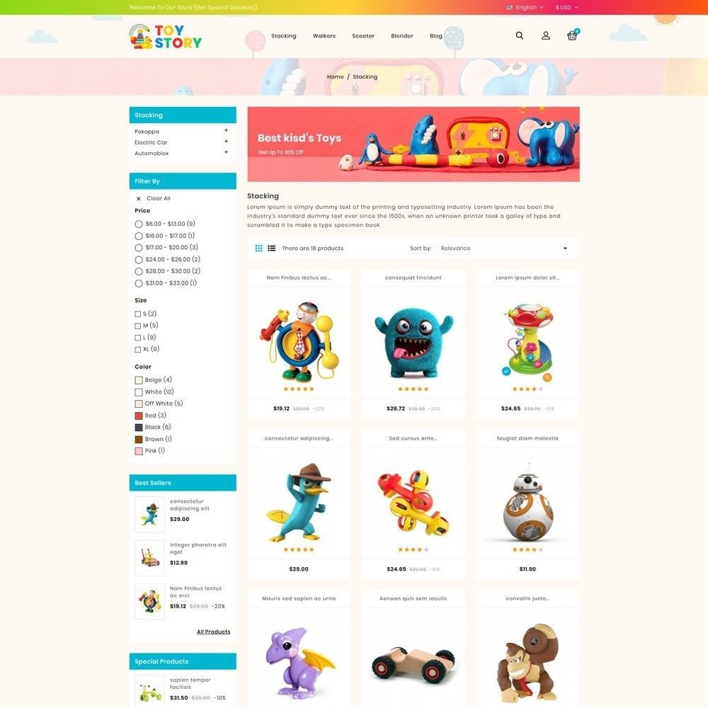 theme - Crianças & Brinquedos - Toys Kids Store - 3