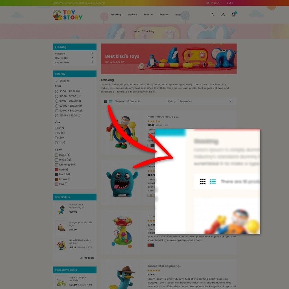 theme - Kinderen & Speelgoed - Toys Kids Store - 8
