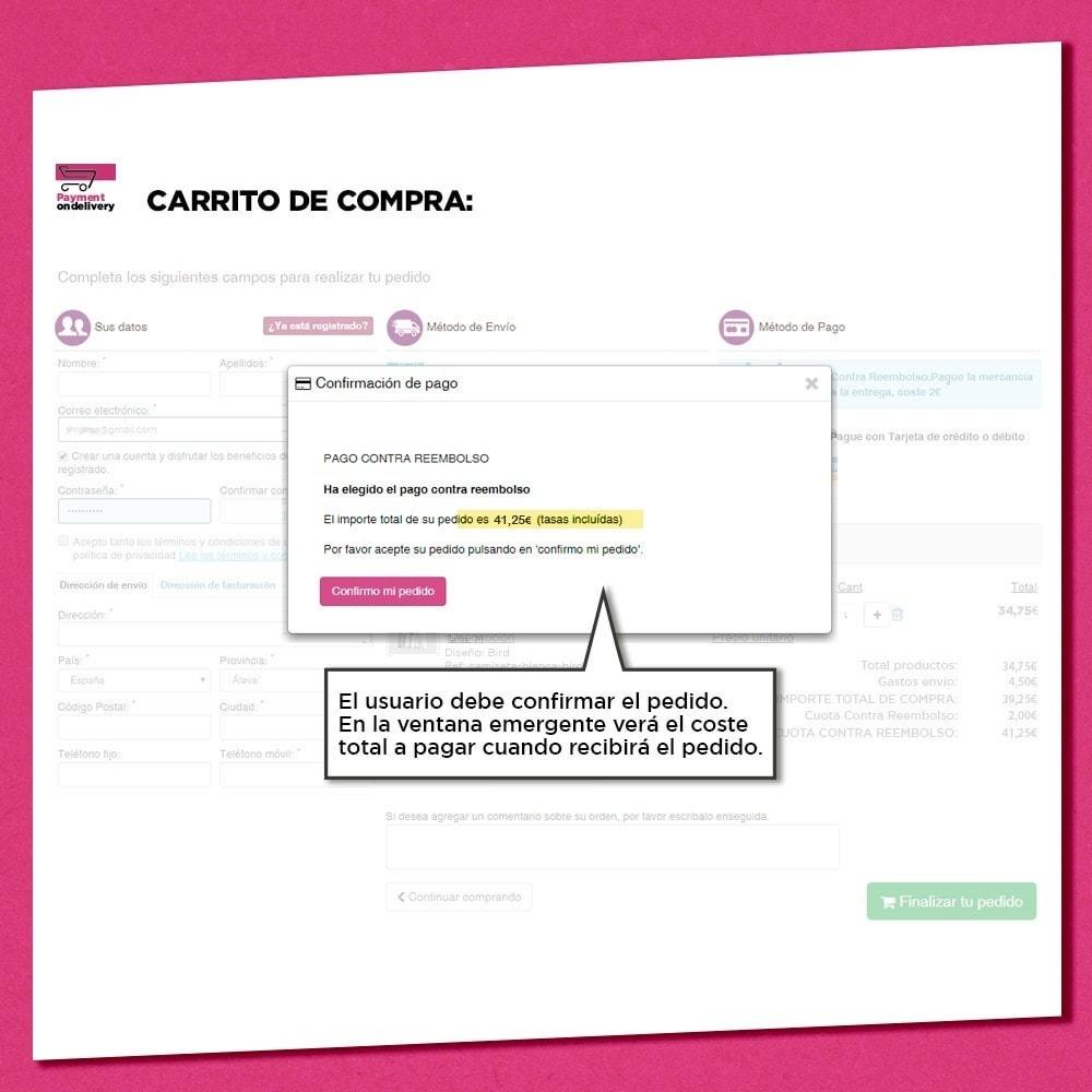 module - Pago a la Entrega (contrarrembolso) - Pago contra reembolso con comisión - 4