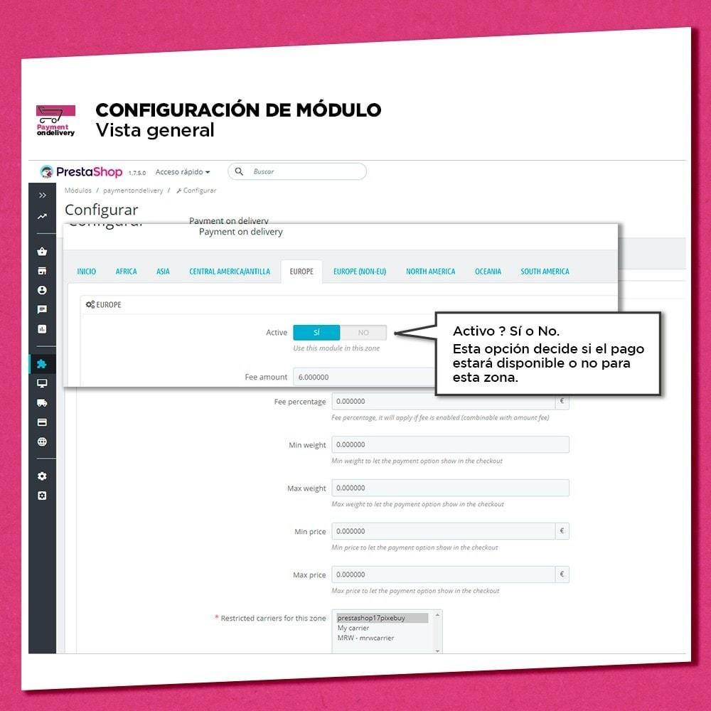 module - Pago a la Entrega (contrarrembolso) - Pago contra reembolso con comisión - 6