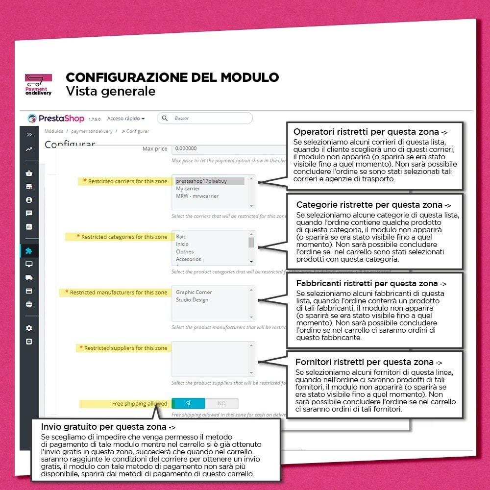 module - Pagamento alla Consegna (in contrassegno) - Pagamento alla consegna con commissioni - 10
