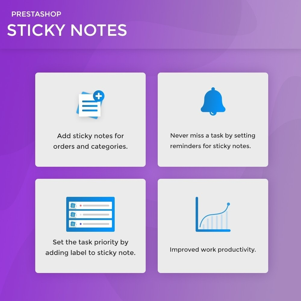 module - Notifications & Automatic Emails - Sticky Notes for Orders and Categories - 2