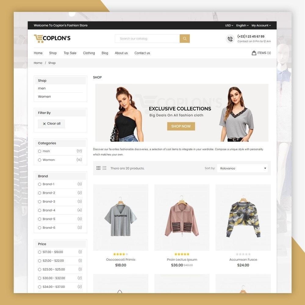 theme - Fashion & Shoes - Coplons Fashion Store - 5