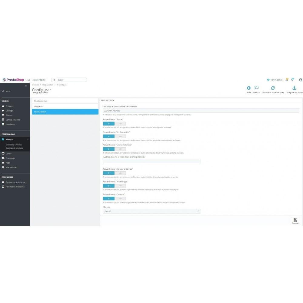 module - Informes y Estadísticas - Conversiones Analytics, Adwords, Pixel y Rmkt (gtag.js) - 6