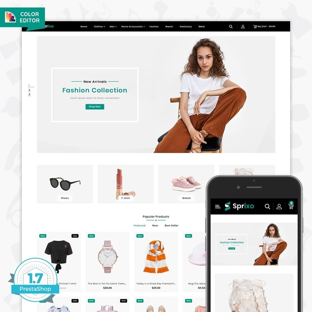 theme - Mode & Schuhe - Sprixo - The  Fashion Store - 1
