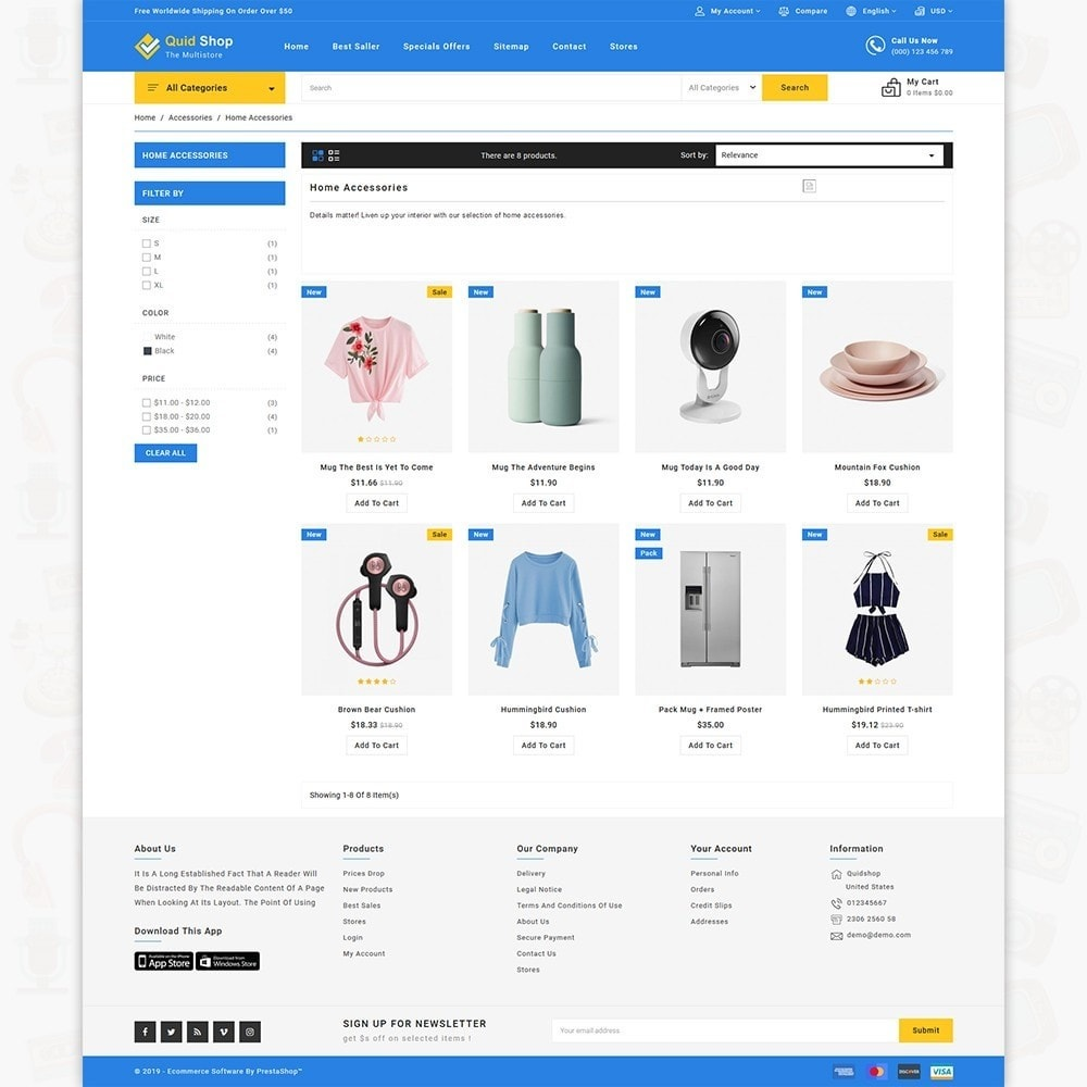 theme - Electronics & Computers - QuidShop - The Best MultiStore Theme - 3