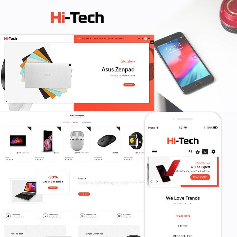 theme - Electronics & Computers - Hi Tech Electronic Digital Multistore - 1