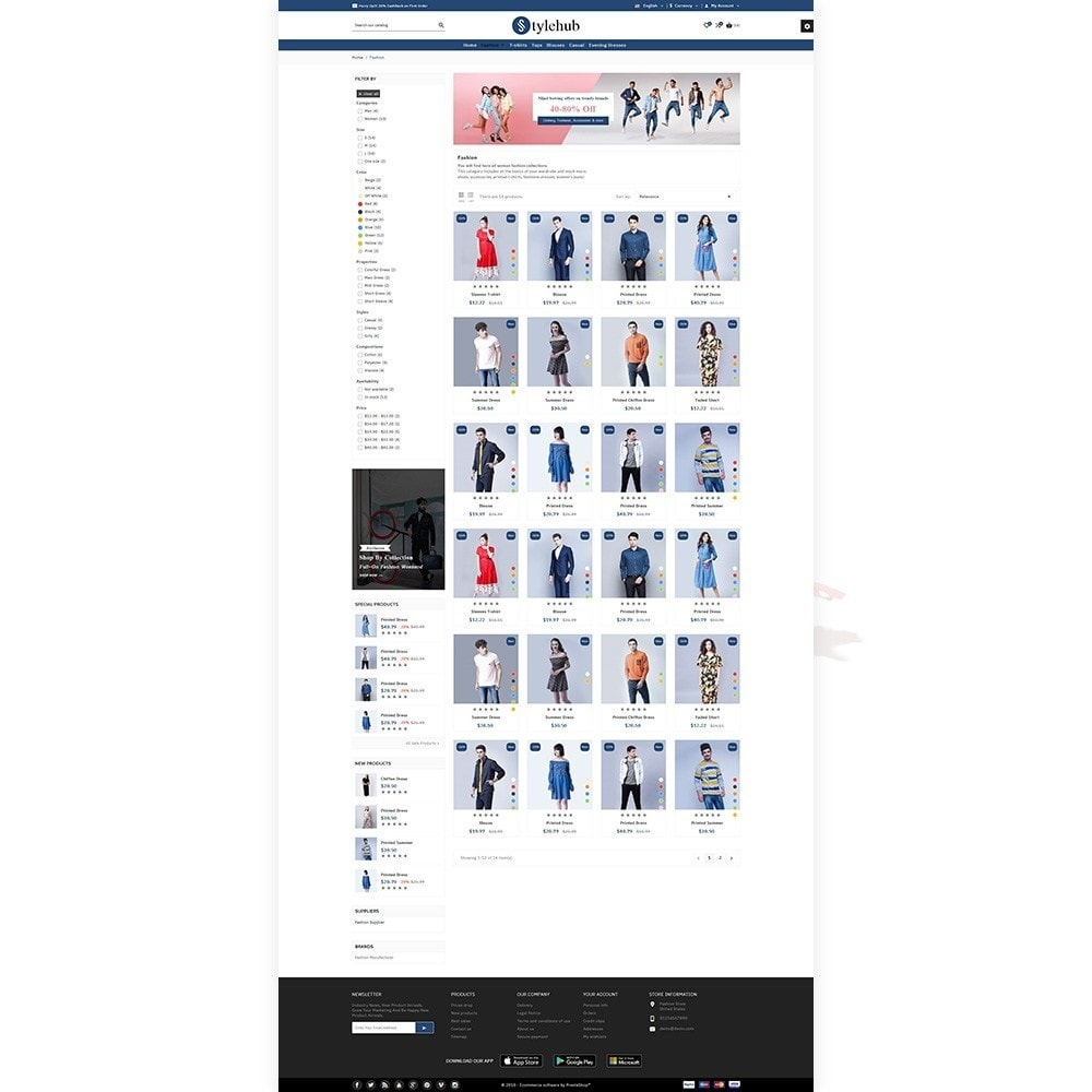 theme - Moda & Calçados - StyleHub Fashion Bootstrap Responsive - 3