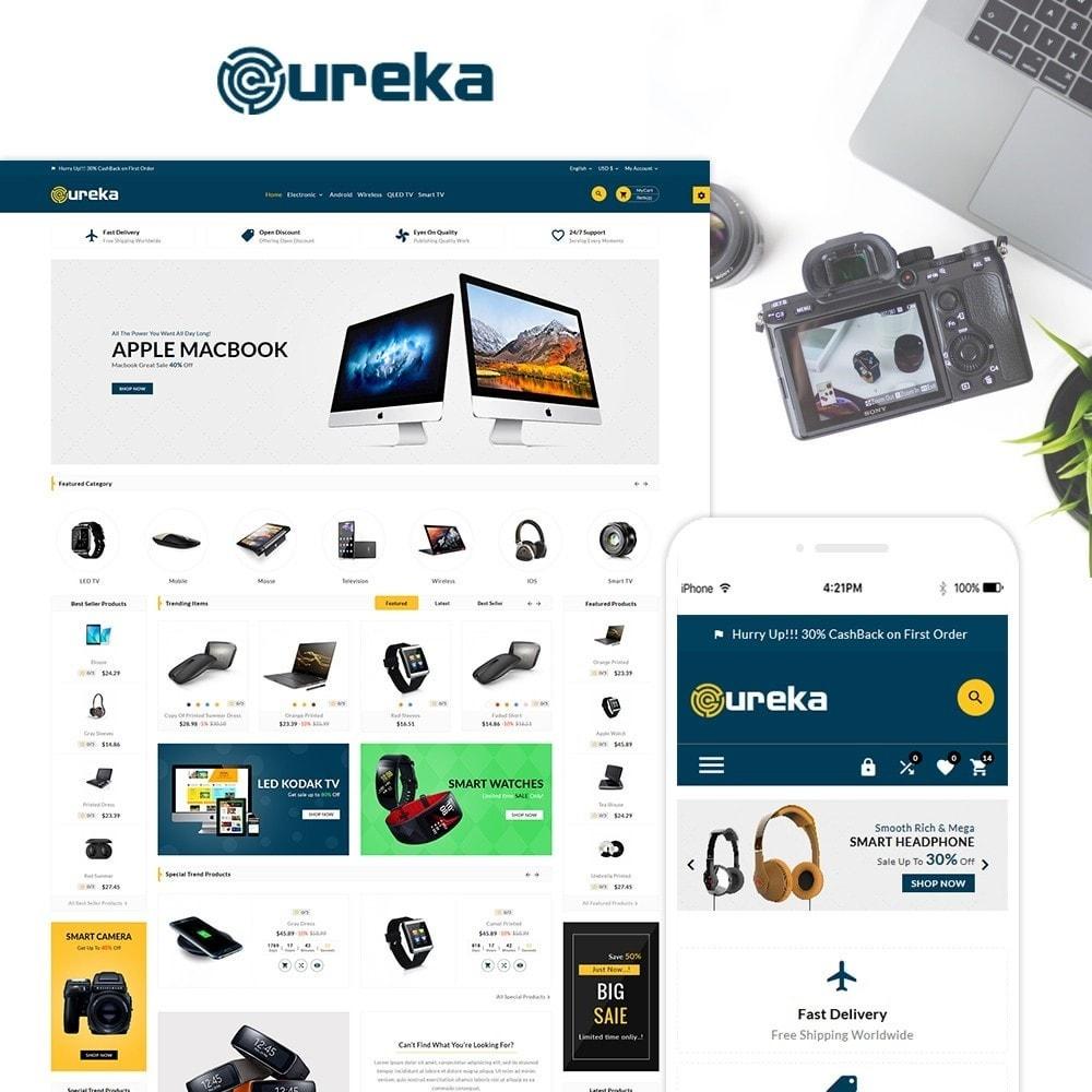 theme - Electronique & High Tech - Eureka Electronic Responsive Shop - 1