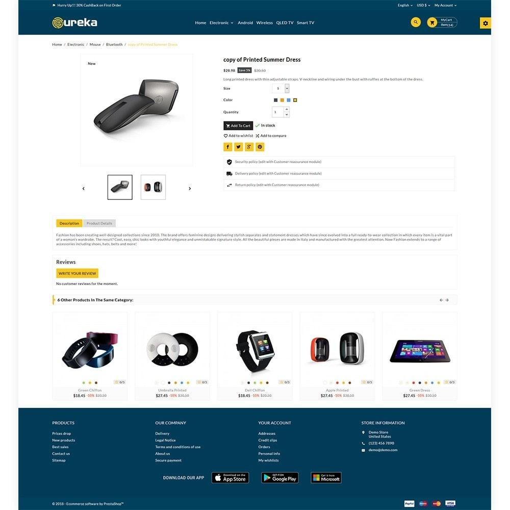 theme - Electronique & High Tech - Eureka Electronic Responsive Shop - 5