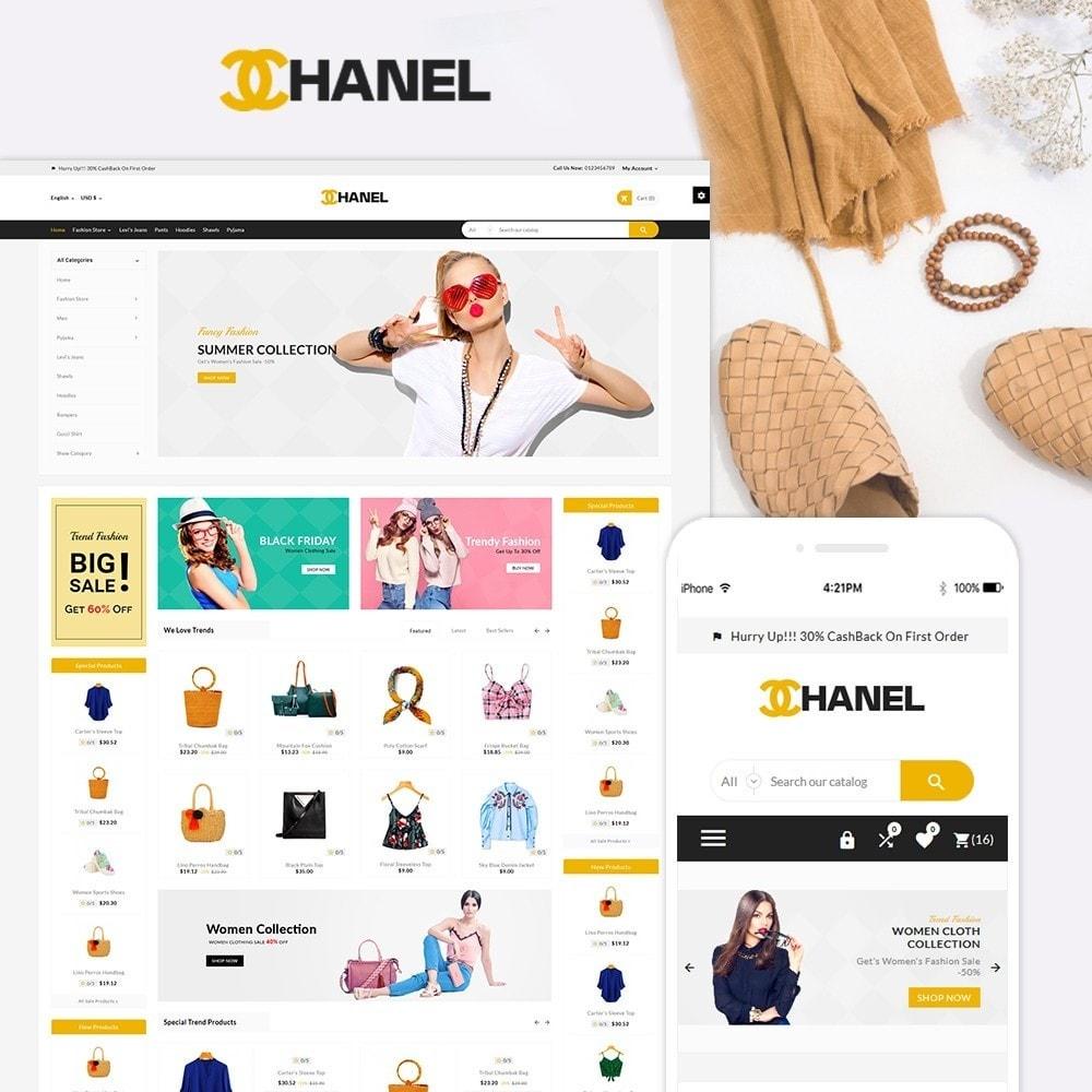 theme - Fashion & Shoes - Chanel Stylish Fashion Mega Boom - 1