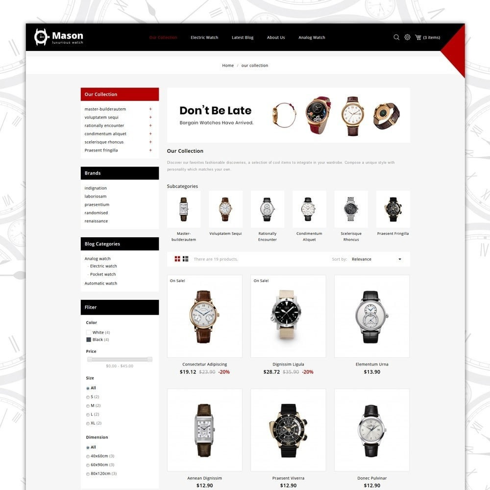 theme - Elektronika & High Tech - Mason - The Watch Shop - 4