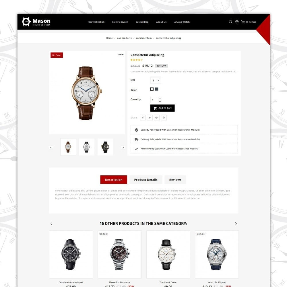 theme - Elektronika & High Tech - Mason - The Watch Shop - 6