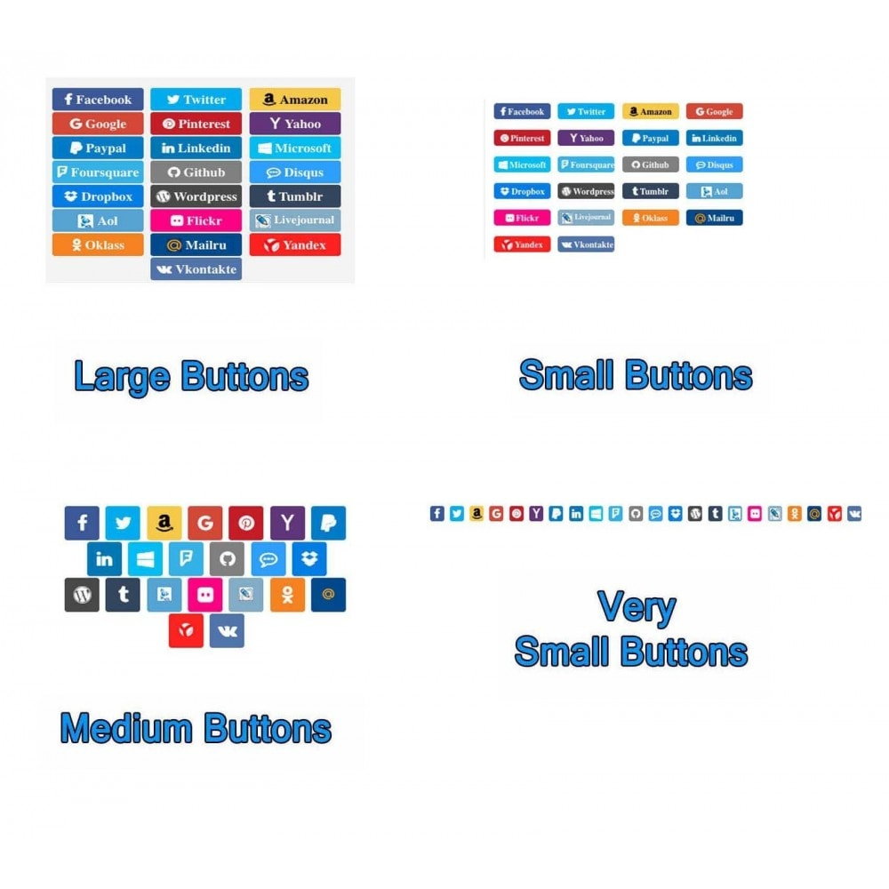 module - Boutons Login & Connect - Social Pack: Connexions, Parrainages, Plugins (34 en 1) - 10